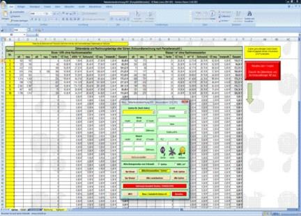 nebenkostenabrechnung excel vorlage - Nebenkostenabrechnung Muster Excel
